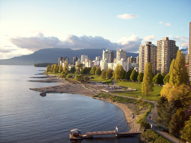 English Bay bei Vancouver