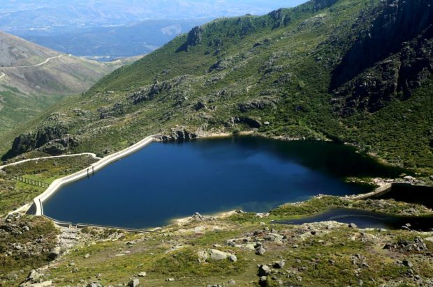 Stausee in Portugal